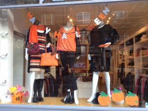 Halloweeen Window